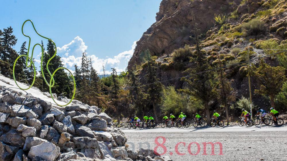 500 fanáticos participaron de la Sagan Fondo en el marco de la Vuelta 2020.