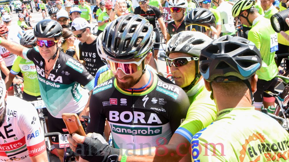 500 fanáticos participaron de la Sagan Fondo en la Vuelta a San Juan.