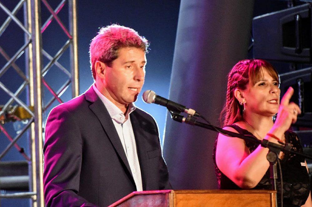 Sergio Uñac en la inauguración FNS 2020 (Foto: Adrián Carrizo, sj8)