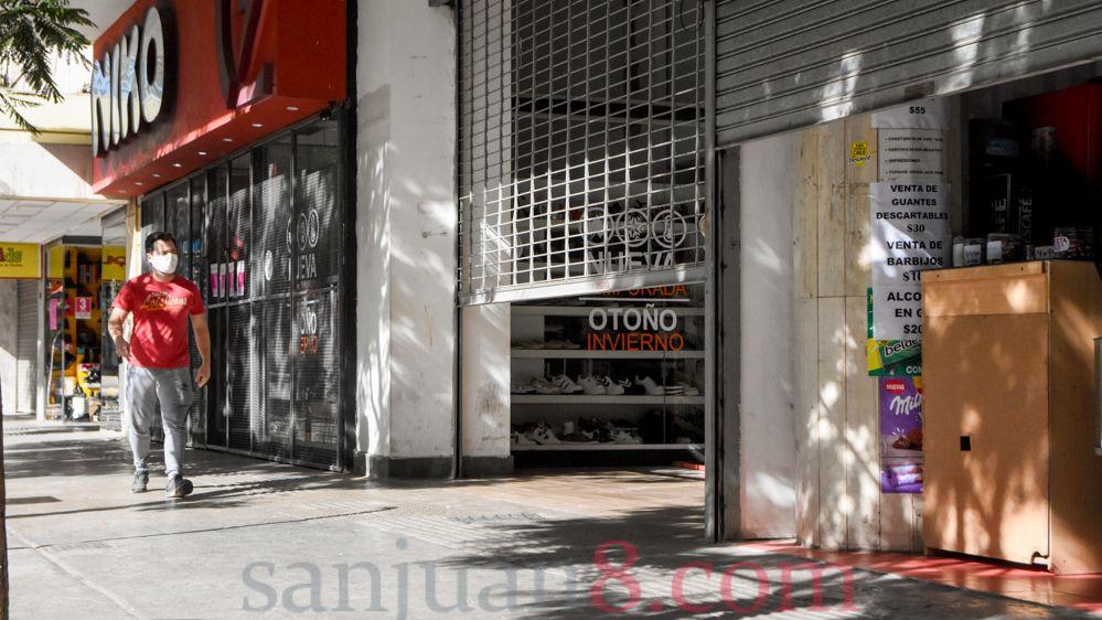 Comercio - Centro comercial - Peatonal (Fotos: sanjuan8.com)