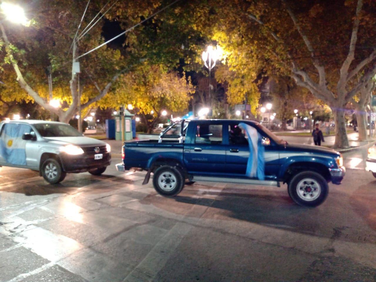 Sanjuaninos se manifestaron por la expropiación de Vicentin