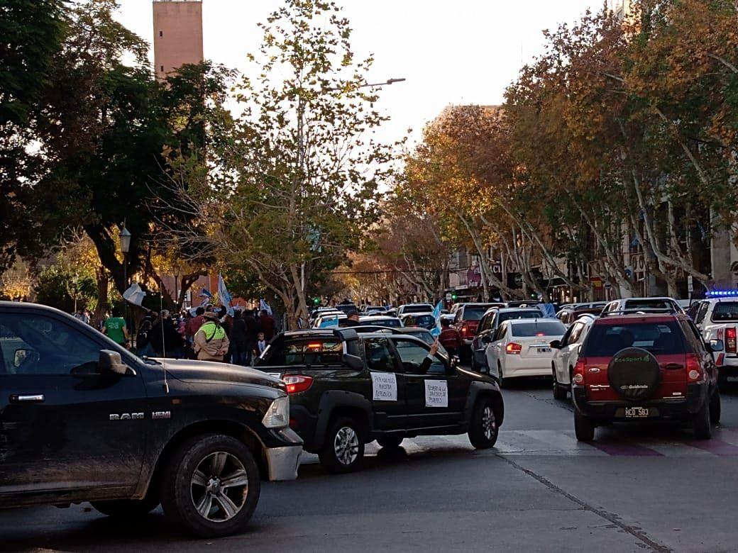Sanjuaninos se sumaron al banderazo en el país por Vicentin