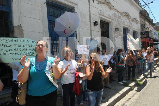 Caso María Julia: nueva protesta por la custodia de la pequeña de 2 años
