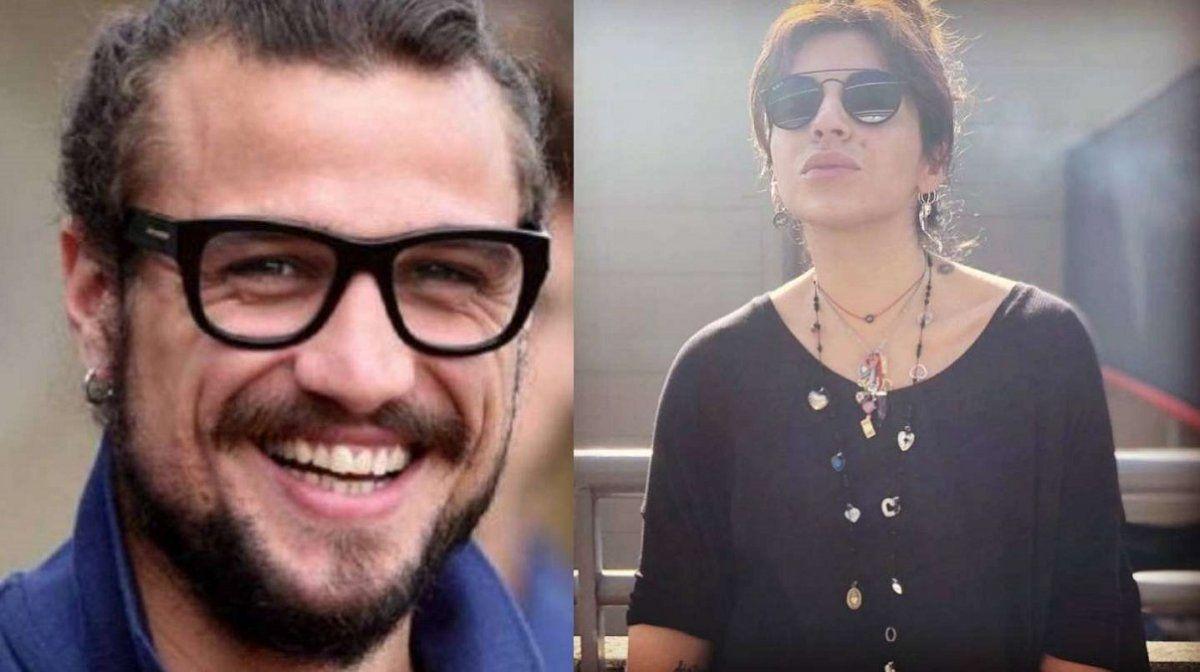 Daniel Osvaldo le declaró su amor públicamente a Gianinna Maradona