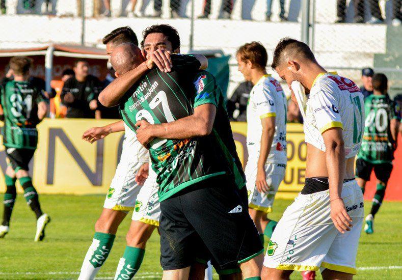 El Verdinegro remontó el partido y consiguió un empate en casa ante Defensa y Justicia