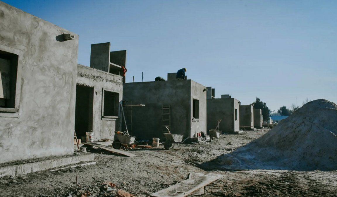 La construcción tuvo un alza notable en sus niveles
