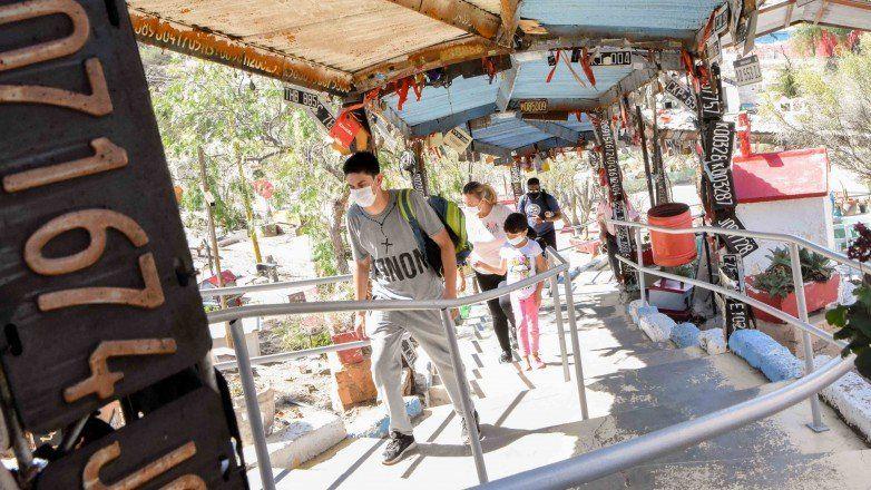 Difunta Correa: por primera vez, registrarán las características de los turistas
