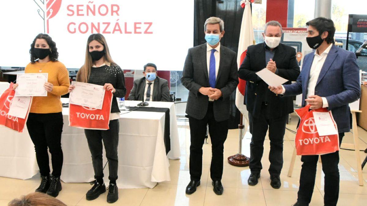 Presentación de la Fundación Señor González. Foto: Adrián Carrizo.