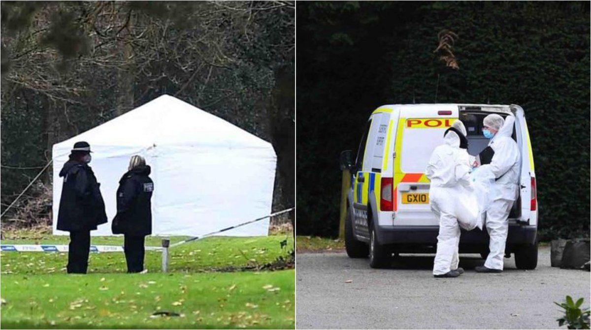 Inglaterra: encontraron un bebé muerto en un campo de golf