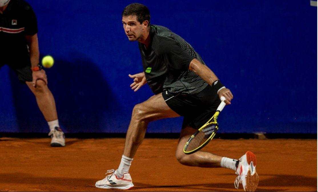 Delbonis pasó a la segunda ronda del Argentina Open.