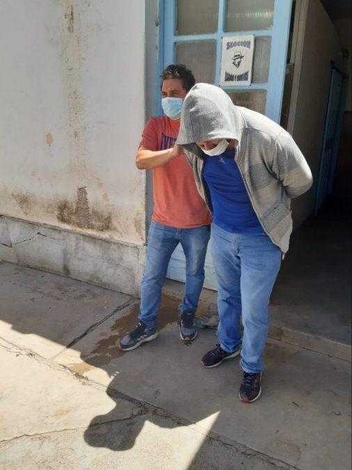 Cristian Alberto Girinin de 43 años fue detenido.