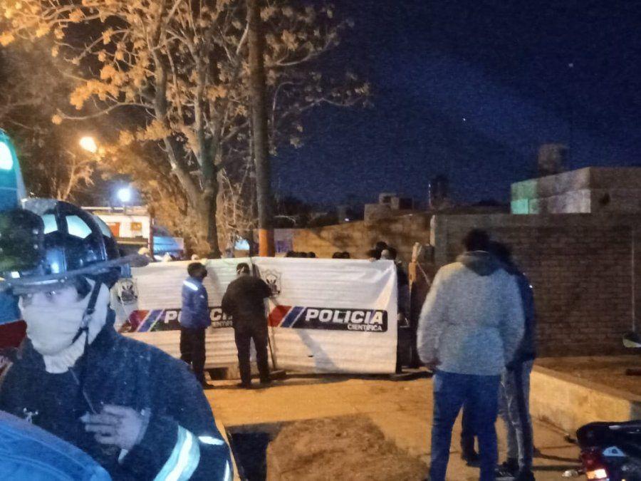 Incendio en Chimbas: la casa de la nena que murió, se encuentra inhabitable