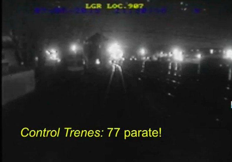 Impactantes imágenes del choque de trenes en Temperley
