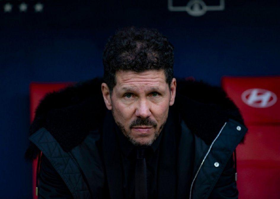 El Atlético Madrid del Cholo Simeone quedó eliminado de la Copa del Rey.