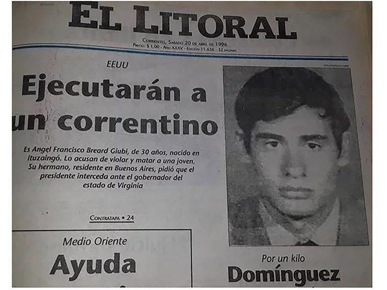 La historia del argentino condenado a pena de muerte en EE.UU.