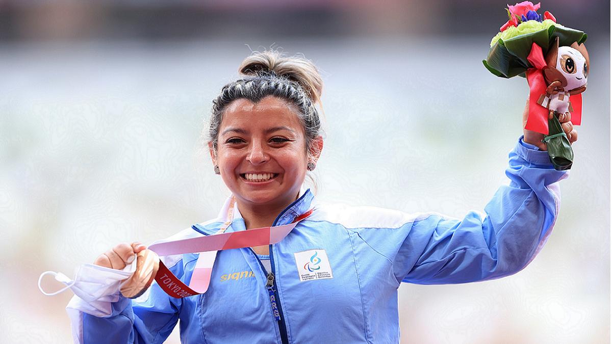 Antonella Ruiz Díaz le dio la primera medalla a Argentina