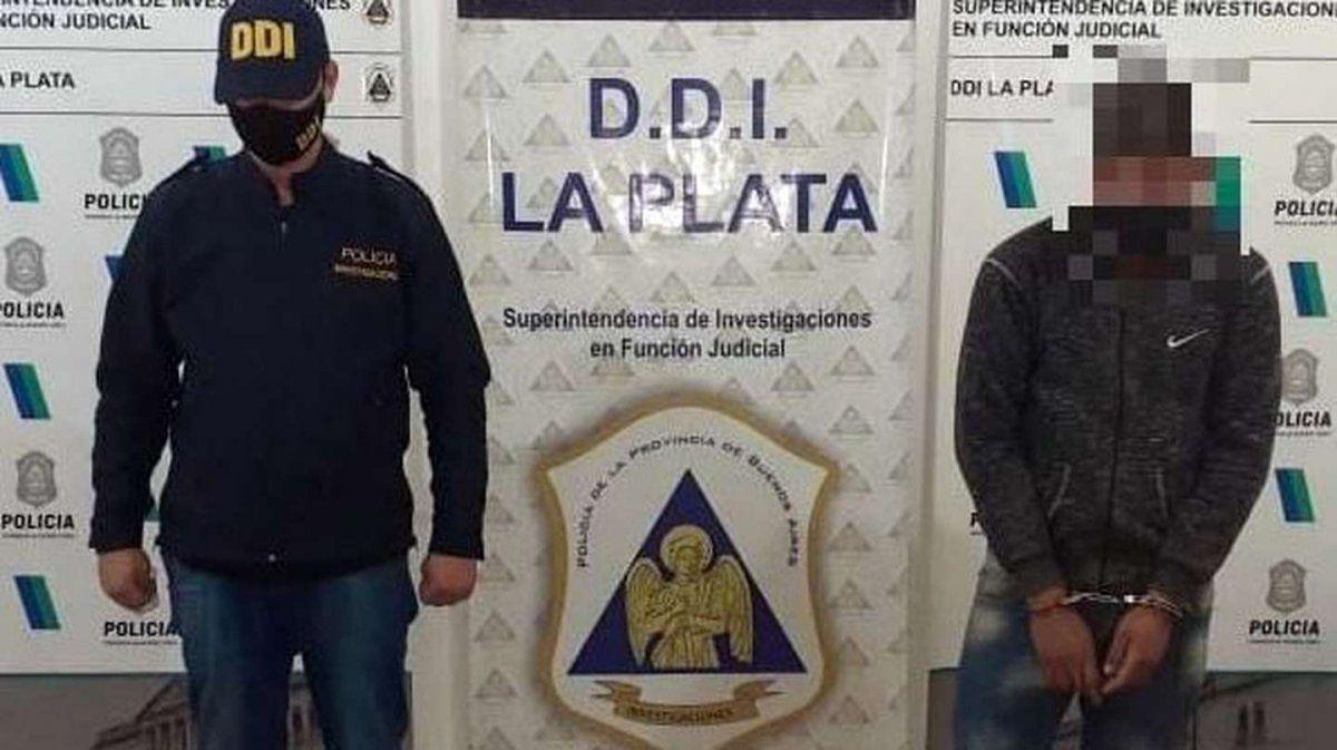 Violador de La Plata detenido.