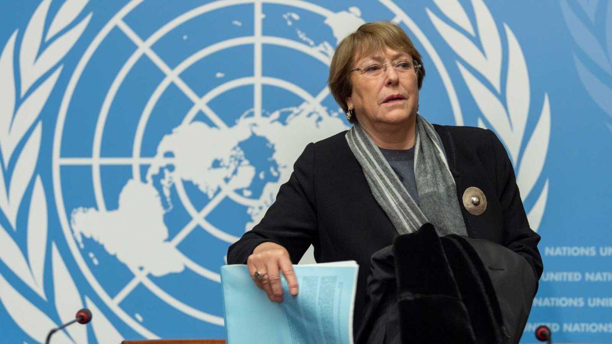 Michelle Bachelet se mostró preocupada por las últimas detenciones en Venezuela.