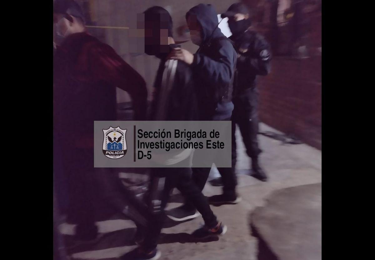 Detuvieron a un joven de 19 años por el violento asalto a la agente de Policía