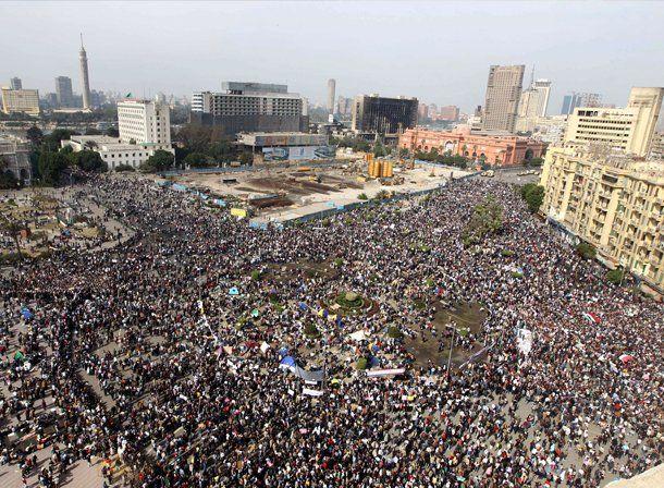 La marcha del millón convocó a cientos de miles de egipcios que reclaman la salida de Mubarak