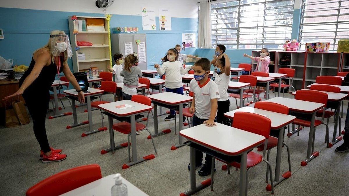 Variante Delta: Rio de Janeiro suspendió clases presenciales