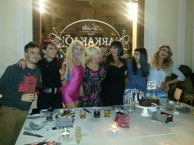 Exclusivo   Moria Casán festejó su cumpleaños rodeada de amigos