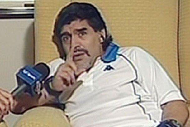 Maradona: en dos partidos Rivero será ídolo de Boca