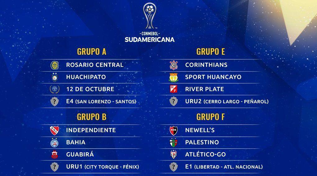 La Copa Sudamericana también definió su fase de grupos