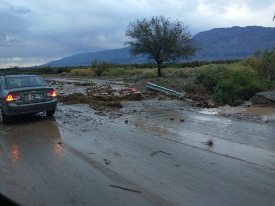 Este es el estado de rutas y caminos tras la intensa tormenta