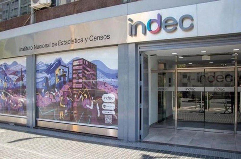 El Indec informa el martes la variación de la actividad económica