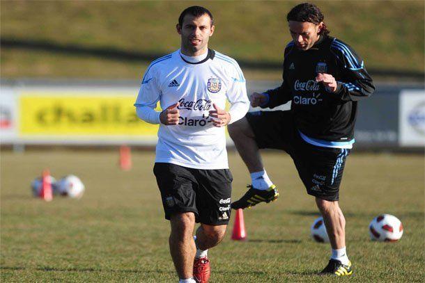 Argentina entrenó sin Messi en Ginegra