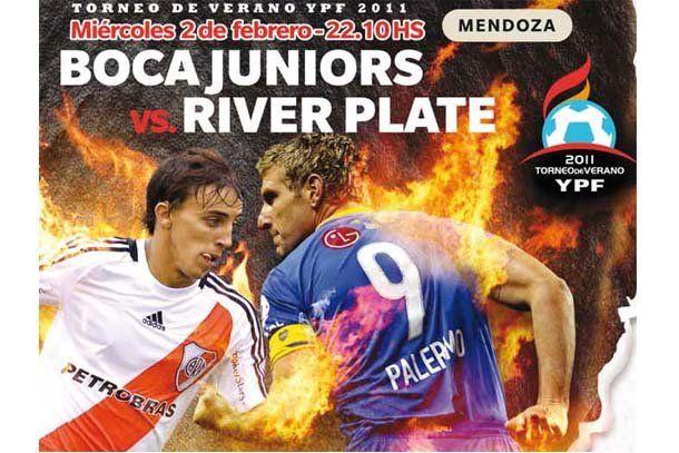 River y Boca juegan el Superclásico en Mendoza con hinchada sanjuanina