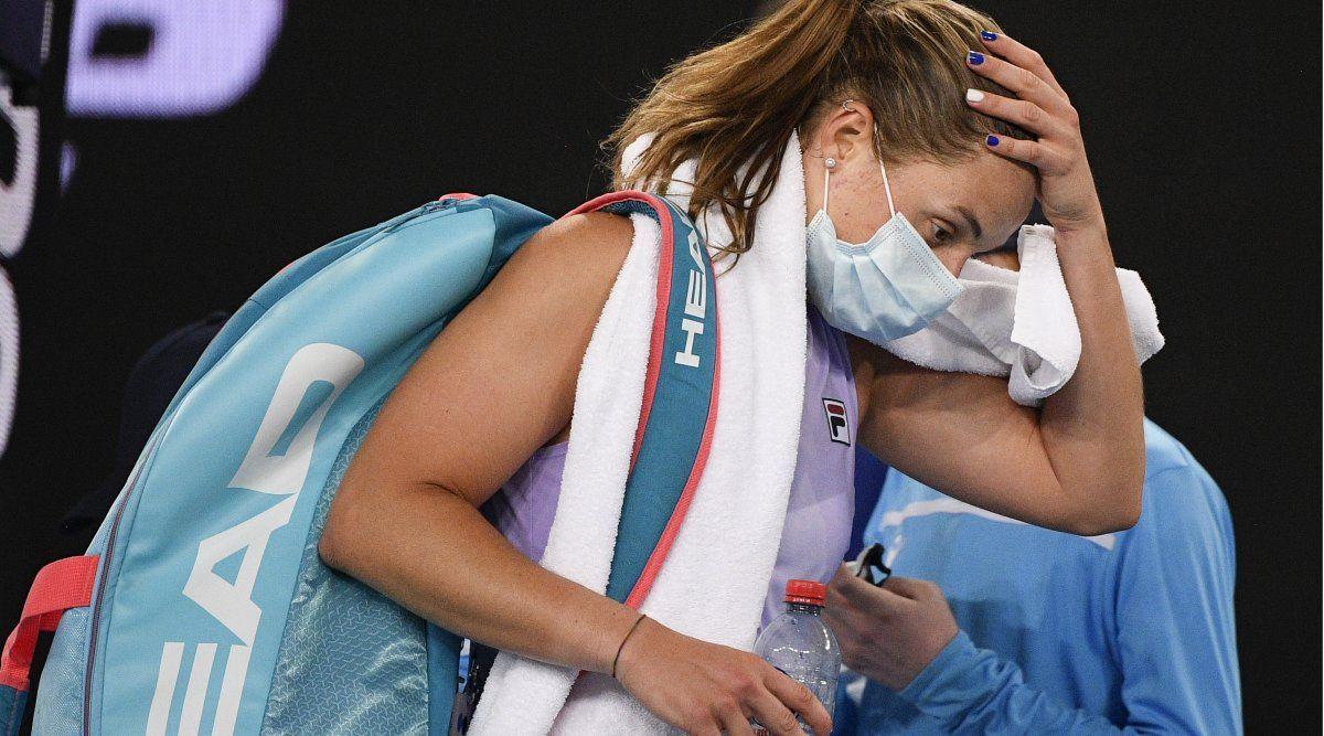 Podoroska perdió con Vekic y se despidió del Abierto de Australia.