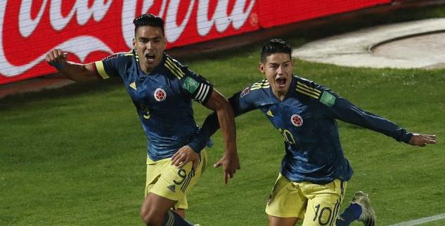 Colombia recibe a Uruguay en el partidazo de la tarde en las Eliminatorias