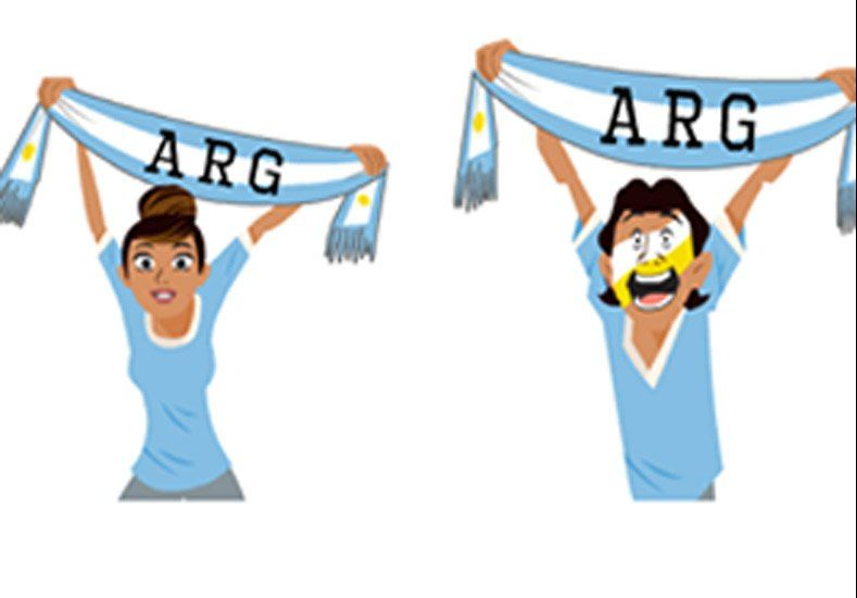 Facebook lanzó una edición especial de stickers para la Copa América 2015