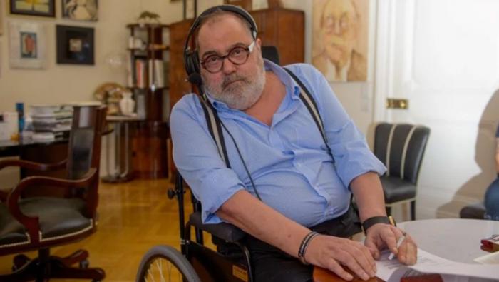 Jorge Lanata bajó 30kg y volvió a hacer radio desde su casa
