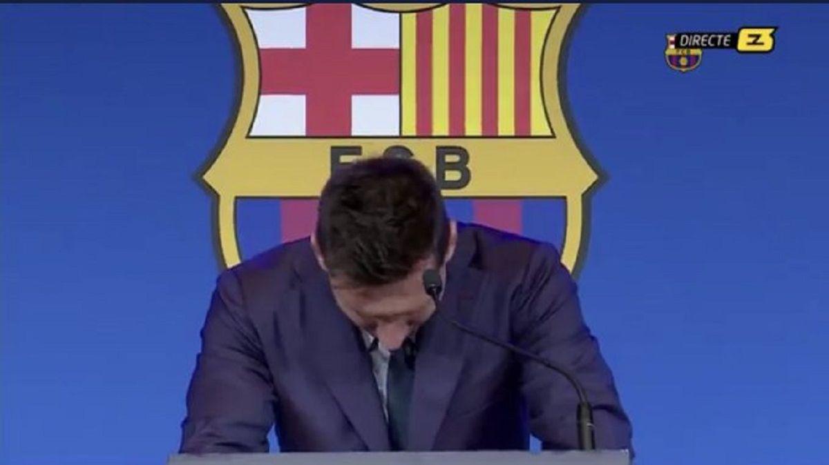 Las frases de Lionel Messi durante la conferencia de prensa