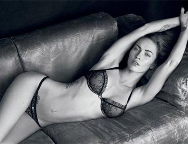Infartante: Megan Fox para Armani