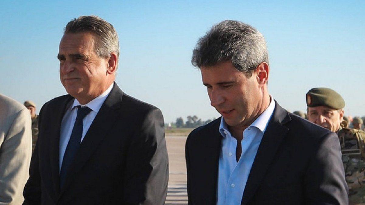 Rossi llega a San Juan para reconocer el accionar del Ejército tras el terremoto