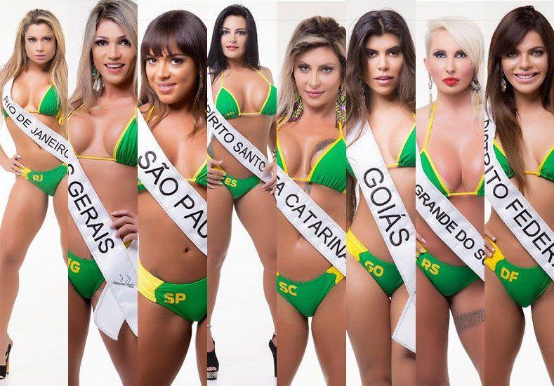 Ya están las candidatas para Miss Bum Bum 2015