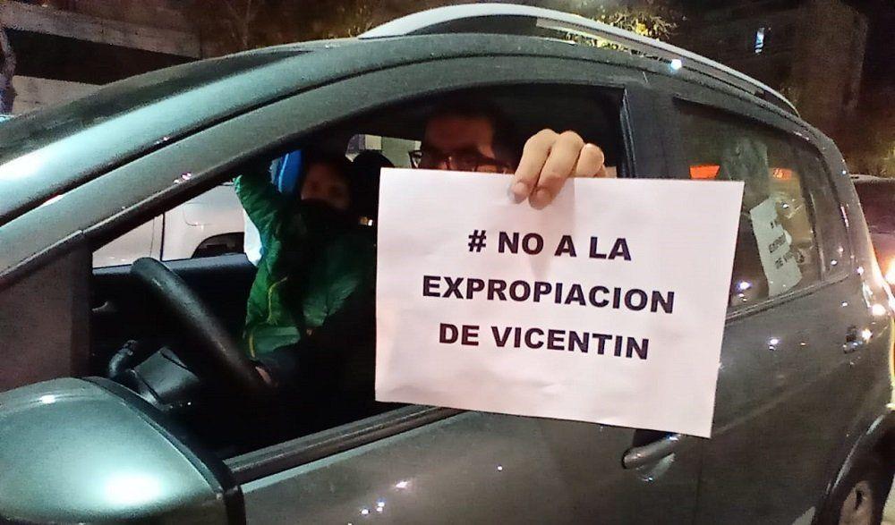 Con bocinazos y cacerolazos, sanjuaninos se manifestaron por la intervención de Vicentin