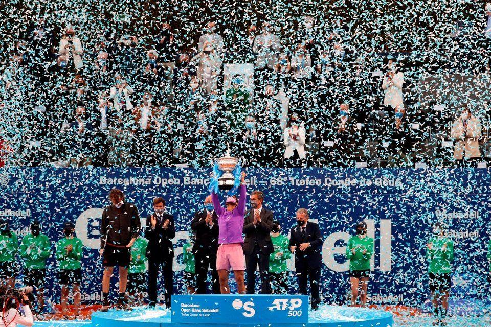 Rafa Nadal, campeón del ATP de Barcelona