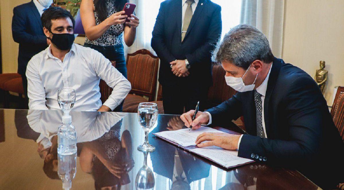 San Juan firmó convenio con el Instituto Nacional de la Semilla