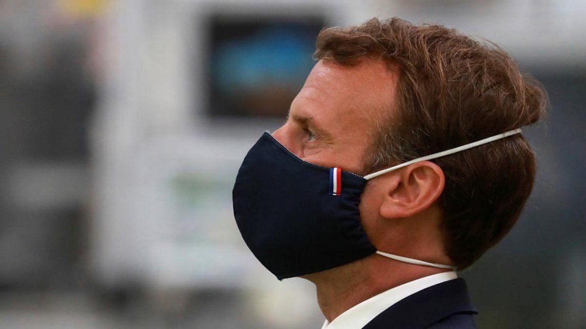 Macron se encuentra estable tras dar positivo por COVID-19