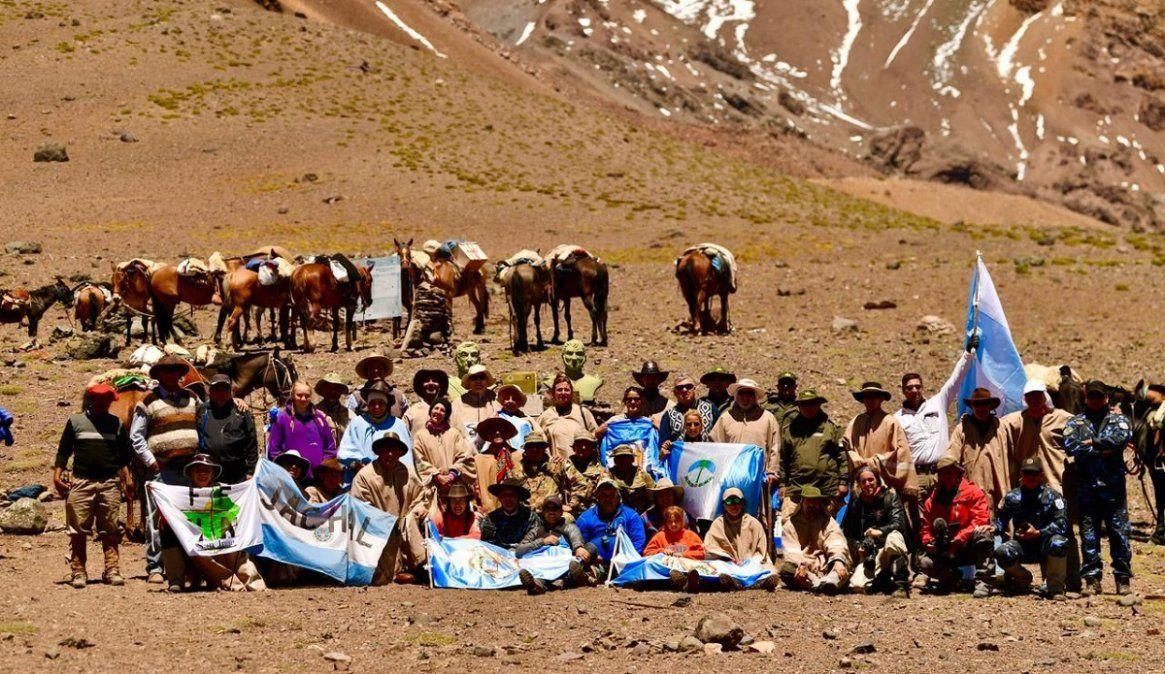Los expedicionarios se preparan para partir a Valle Hermoso