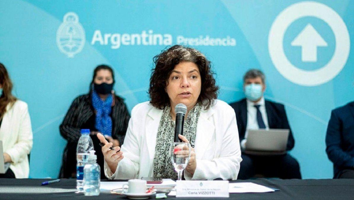 Vizzotti: No es en fábricas ni aulas donde se dan los contagios