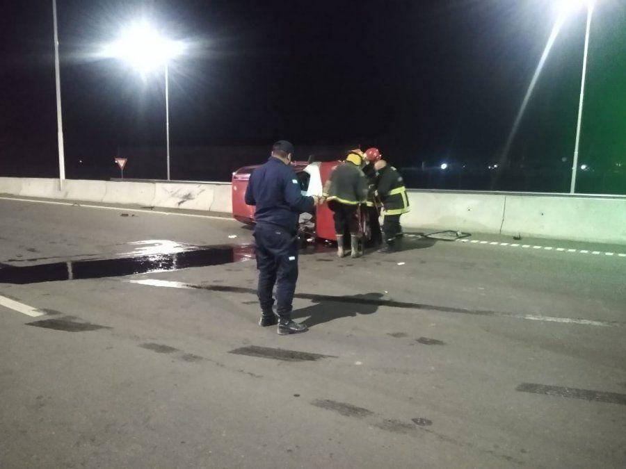 El conductor mendocino murió en el lugar.