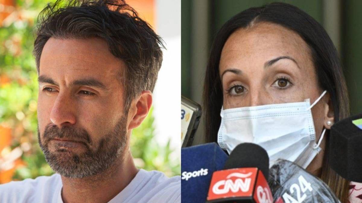 El médico y la psiquiatra de Maradona.
