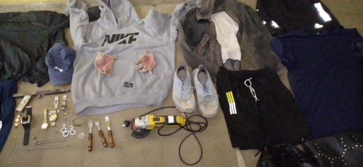 Detuvieron a un delincuente relacionado con violentos asaltos en Santa Lucía