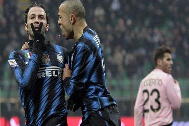 Italia: Inter lo dio vuelta y derrotó al Palermo
